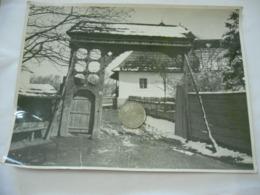 FOTO ARTE POPOLARE ROMENA ARDEAL PORTONE CONTADINESCO ROMANIA CM.17X24-37 - Mestieri