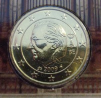 ===== 10 Cent Belgique 2009 Sorti Du BU (8 Pièces) Mais Légèrement Oxydé ===== - Belgium