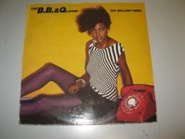 "VINYLE B.B. & Q. BAND ""SIX MILLION TIMES"" 33 T CAPITOL / EMI (1983) - Vinyl Records"