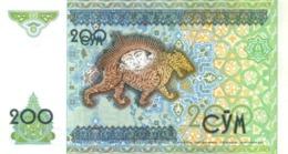 Uzbekistan P.80  200 Sum 1997 Unc - Uzbekistan