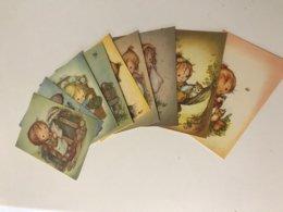 Lot De 11 Cartes Postales Anciennes Signées Lee - Kinder