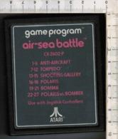 Videogioco-ATARI (air-sea Battle) Vintage Cassetta CX-2602-P.-vedi Foto - Atari