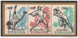Erinnofilie E 98 **   1966 Budapest - Commemorative Labels