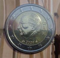 ===== 2 Euros Belgique 2009 Sorti Du BU (8 Pièces) Mais Légèrement Oxydé ===== - Belgium