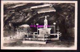 REF 437 : CPA Notre Dame De Remonot Intérieur De La Grotte - Non Classés