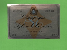 "ETIQUETTE DE CHAMPAGNE ""  Sylvie  THEVENIN - Champagne"