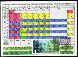 BULGARIA \ BULGARIE - 2019 - Année Internationale Du Tableau Périodique Des éléments Chimiques MENDELEEV - MC Tir.10 Exe - Famous People