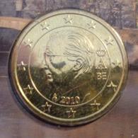 ===== 50 Cent Belgique 2010 Sorti Du BU (8 Pièces) Mais Légèrement Oxydé ===== - Belgium