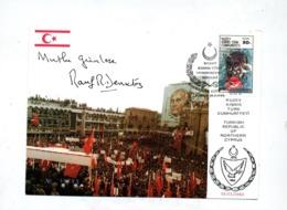 Carte Cachet  Egemenlir Meeting Mitingi ? - Lettres & Documents