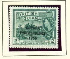 GUYANA  -  1966-67 Mult Script CA Watermark Definitive 2c Unmounted/Never Hinged Mint - Guyana (1966-...)