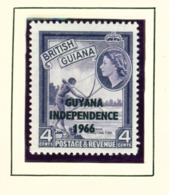 GUYANA  -  1966-67 Mult Script CA Watermark Definitive 4c Unmounted/Never Hinged Mint - Guyana (1966-...)