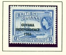 GUYANA  -  1966-67 Mult Script CA Watermark Definitive 8c Unmounted/Never Hinged Mint - Guyana (1966-...)