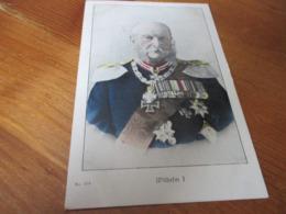 Wilhelm I - Familles Royales