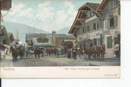 SAANEN  DER LEZTE POSTWAGENVERKEHR - Zwitserland