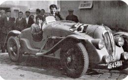 Amilcar Pégase - Pilotes: Mme Roux/Mme Rouault - Concurrents Francaises  Du Mans 1938  - 15x10cms PHOTO - Le Mans