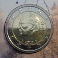 ===== 2 Euros Belgique 2010 Sorti Du BU (8 Pièces) Mais Légèrement Oxydé ===== - Belgium
