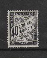 France Timbre Taxe De 1882 N°19 Oblitéré Cote 70€ - 1859-1955 Used