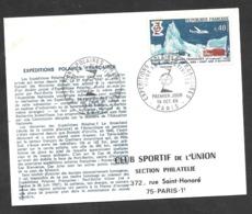 Enveloppe Premier Jour Polaire 1968 - Covers & Documents