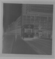 Bruxelles 1960 Tram Croix Rouge Négatif 6x6 - Photographie