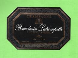 "ETIQUETTE DE CHAMPAGNE ""    BEAUDOIN-LATROMPETTE - Champagne"