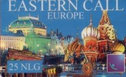 HOLANDA (PREPAGO). Eastern Call Europe. 12-01. PRE-NL-1521. (018). - Nederland