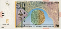 Macedonia P.15  50 Dinars 2003 Unc - Macédoine