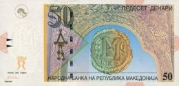 Macedonia P.15  50 Dinars 2003 Unc - Macedonië