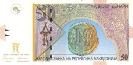 Macedonia P.15  50 Dinars 1996 Unc - Macedonia