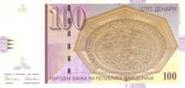 Macedonia P.16 100 Dinars 1996 Unc - Macédoine