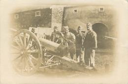 Carte Photo Canon Artillerie  Militaria - Ausrüstung