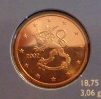 ===== 5 Cent Finlande 2002 état BU ===== - Finland