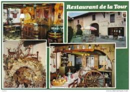 Carte Postale 01. Ramasse Ceyzériat  Restaurant De La Tour  Mr. Robert Joly Chef De Cuisine Très Beau Plan - Non Classés