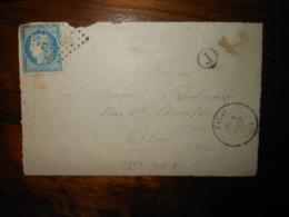 Fragment Enveloppe GC 2794 Patay Loiret - 1849-1876: Période Classique