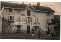 CHASSE CENVES HOTEL LA GAITE DEPART DE CHASSE FAISANT PARTIE DU COLLECTION SPECIALISEE QUE JE DETAILLE ANIMEE - Autres Communes