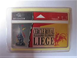 Télécarte Du Cercle Royal Des Télégraphes Et Téléphones De Liège - Belgio