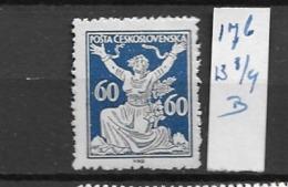 1920 MNH Czechoslovakia Michel 176-B - Neufs