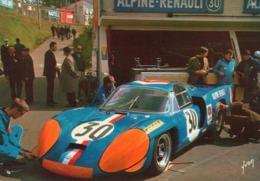 24 HEURES DU MANS / ALPINE 3 Litres ( 72 ) -    Cpsm - Le Mans