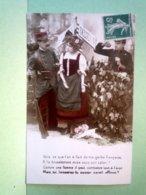 CPA Fantaisie Frontiere Alsace Lorraine 1870 - Non Classés