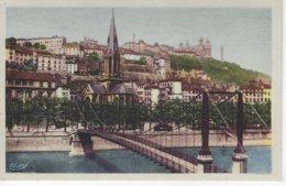 69 ( Rhone ) - LYON - Passerelle St Georges - L'Eglise St Georges Et Le Coteau De Fourviere - Andere