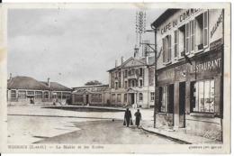 WISSOUS  91 ESSONNE LA MAIRIE ET LES ECOLES EDIT. CIM CAFÉ DU COMMERCE - Francia