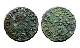JEAN-THEODORE DE LÖWENSTEIN Double Tournois 1633 Cugnon - 476-1789 Monnaies Seigneuriales