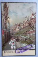 Calendrier ; Février Avant 1906 - Cartes Postales
