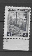 1929 MNH Czechoslovakia Michel 292 - Neufs
