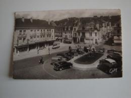 27 Pont-Audemer,place Victor-Hugo Et Rue Thiers,véhicules Anciens,commerces Boucherie,cycles,1957 - Pont Audemer