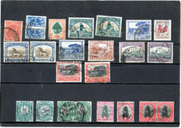 B - Sud Africa - N. 24 Usati Differenti - New Republic (1886-1887)