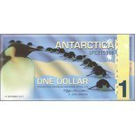 TWN - ANTARCTICA - 1 Dollar 14.12.2011 Comm. - Polymer - Prefix SPC UNC - Banconote