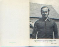 Souvenir Mortuaire CAPIAU Edward (1950-1981?) Geboren Te OPBRAKEL Overleden In GUATEMALA - Images Religieuses