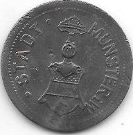 *notgeld Munster 25 Pfennig 1917   Zn  350.2a/c - [ 2] 1871-1918 : Impero Tedesco