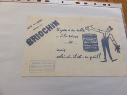 Buvard «BRIOCHIN - SAVON MOU SPECIAL» - Parfum & Kosmetik