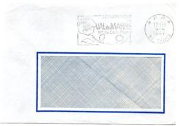 VAL De MARNE - Dépt N° 94 THIAIS 1967 = FLAMME PP Codée = SECAP  ' N° De CODE POSTAL / PENSEZ-Y ' - Postleitzahl